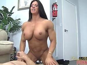 muscular tranny fucking female - Angela Salvagno - Muscle Fucking