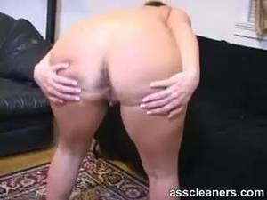 hairy latina assholes - Naked Mistress Demands Man To Lick And Clean Her Hairy Ass