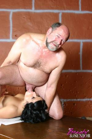Beauty And Senior Fucking - Diana - Bruce, Young/old Porn