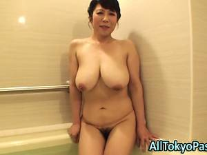 fat chinese grannies - Blowing full-grown asian floozy