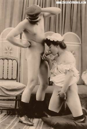 1940s blowjob - Blowjob Vintage Porn From The 1800S