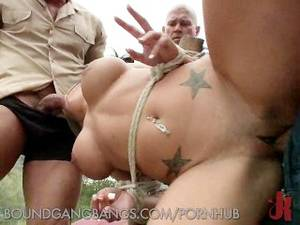 campground gangbang - Left in the Wilderness to be Gangbanged