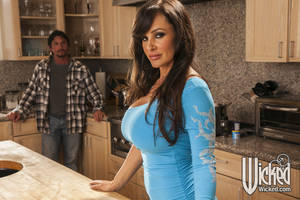 Lisa Ann Kitchen - ... Smoking hot MILF Lisa Ann gives a blowjob and gets screwed hardcore ...