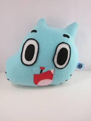 Dolly The Amazing World Of Gumball Porn - Gumball Plush Toy Pillow. Amazing World ...