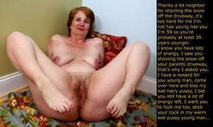 Mature aunt porn captions