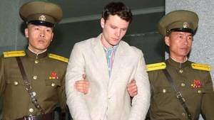 North Korea Military Porn - Otto Warmbier was arrested for stealing a propaganda poster.