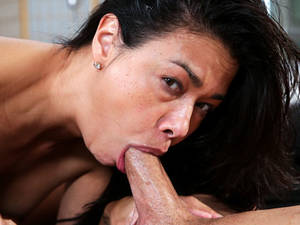 asian throat porn - ... Hot Asian Porn Star Milf Dana Vespoli Gets Her Throat Stuffed