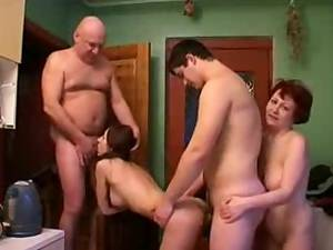 bbw hidden cam sex party - Real Father Mother Daughter and Son orgy Hidden Cam
