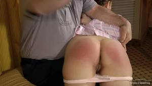 my bare bottom spanking - Nudist cruise pic