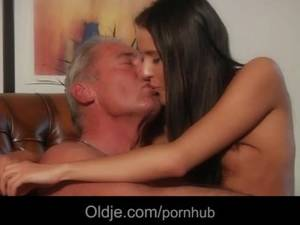 anal nympho girlfriend - Old man lured for fuck by a nympho girl in her apartament