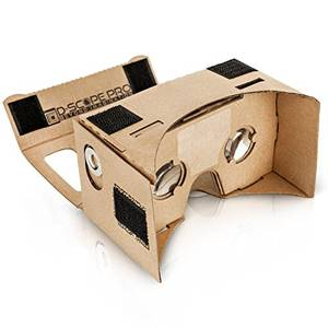 3d Porn Apps - D-scope Pro Google Cardboard Kit with Straps 3D Virtual Reality Compatible  with Android & Apple Easy Setup Instructions Machine Cut Quality  Construction ...