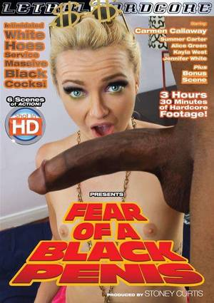 fear monster cock - Fear Of A Black Penis Boxcover