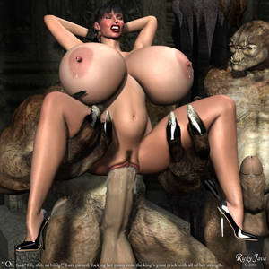 Big Tit Fucking Porn Animated - Big Tits Fucked Hard By Wild Monster