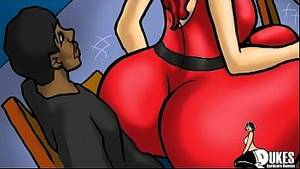 Big Booty Cartoon Moms Porn - PAWG Red Haired Milf uses her big ass for her black step son - XVIDEOS.COM