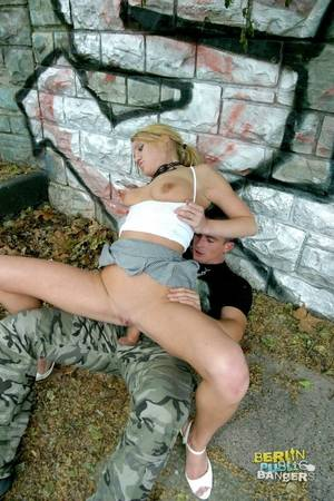 german public oktoberfest - xpics.me - clothed fuck Blonde german slut giving head and fucking in the  public park