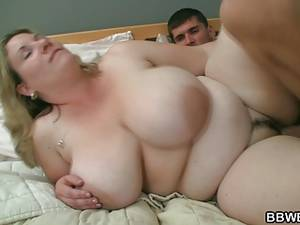 busty fat sex - Busty fat girl and skinny guy