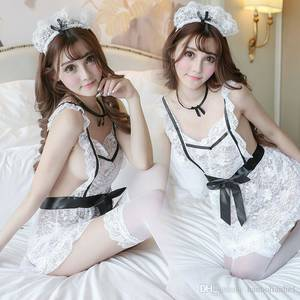 Exotic French Porn - 2018 2017 Women Exotic Apparel Sexy Cosplay Lingerie Porn Role Play Sex  Clothes French Maid Costume Porno Lengerie Plus Size Set From Hanbolianhe1,  ...