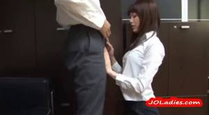 Japanese Office Porn Mini Skirt - 10:00 Office Lady Giving Blowjob Getting Her Ass Rubbed With Cock Cum To  Skirt On The Floor