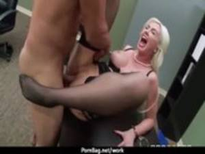 Big Boned Woman Porn - Busty working women getting boned from behind 22