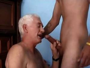American Bi Sex Porn - Old Man Young Man And Woman Bi