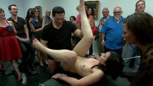 group bondage video - Amy Fair in wonderful bdsm group porn action