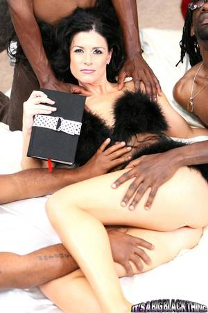 ebony summer xxx - Hot bodied slim brunette India Summer enjoys massively big black cock in  her pussy