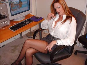 blowjob office milf - ... Office milf Kelly Madison does an fantastic blowjob to her coworker ...