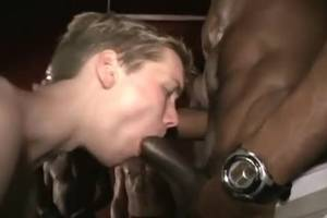 Gay Homemade Interracial Porn - Interracial fuckfest Poor Little White boy