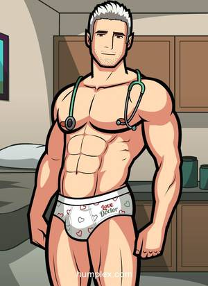 Anime Bear Gay Porn Football - Need a full body medical examination from Dr. Rensont? $9.99