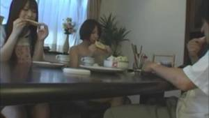 footjob under table dinner - Asian footjob under the table