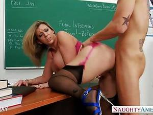 milf teacher - Milf Teacher Sara Jay Fuck Student