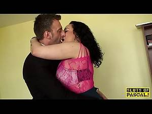 mom bdsm - Chubby british sub drilled hard by maledom