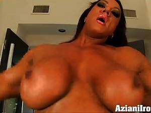Amber Deluca Sex Gif - Aziani Iron Amber Deluca Female Bodybuilder Naked