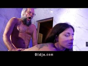 horny old man - Young horny therapist hard fucking beard old man into the bathroom -  XNXX.COM