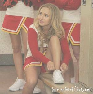 Hayden panettiere cheerleader upskirt