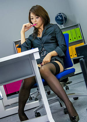 Japanese Office Porn Mini Skirt - Office Lady