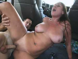 huge tits bus - ... Hardcore sex in the bus featuring amateur with big tits - Skyler Luv